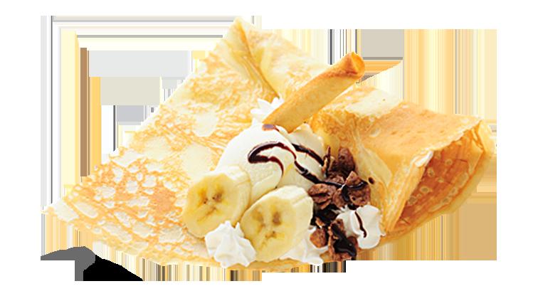 チョコバナナパフェ